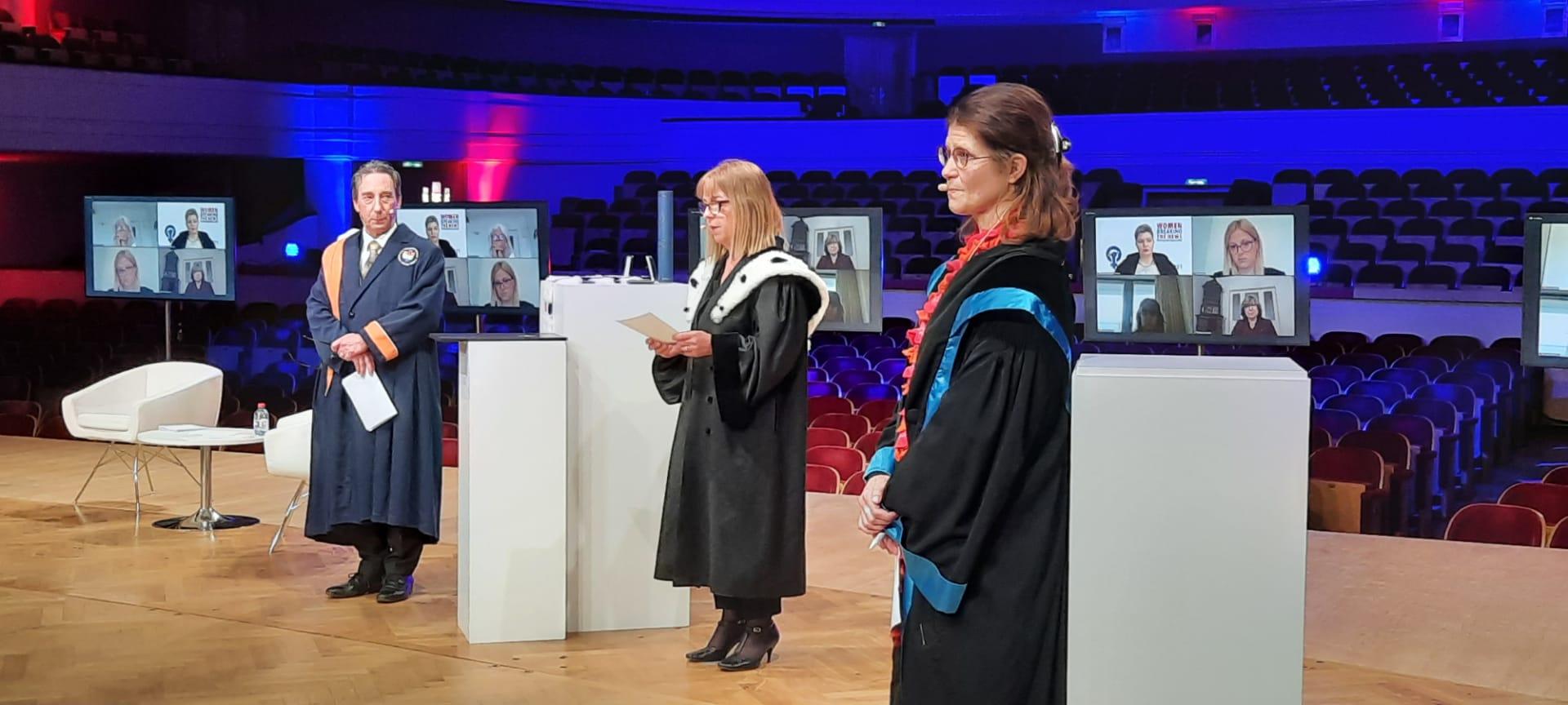 Difference day 2021 - Annemie Schaus, rectrice de l'ULB